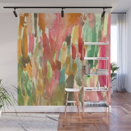 Watercolor Jungle Wall Mural