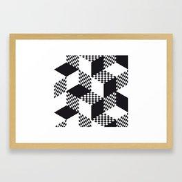 op art Framed Art Print