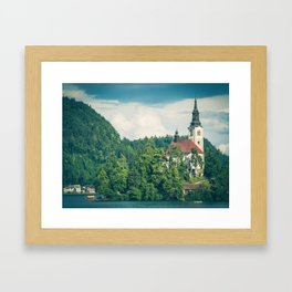 Lake Bled, Slovenia 1 Framed Art Print