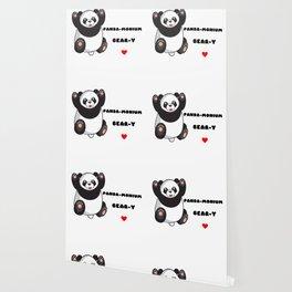 Without You Life Would Be Panda monium I Love You Beary Much Cute anda Pun Wallpaper