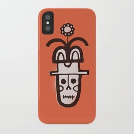 Flower Hat iPhone Case