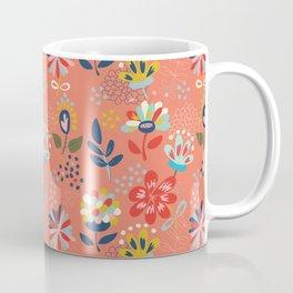 Pretty Floral Coffee Mug