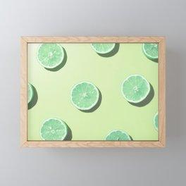 #2_Acid lemons Framed Mini Art Print