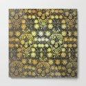 Gold Tiled Sugar Skulls by roxygart