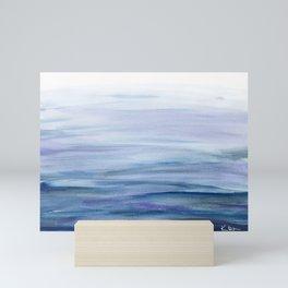 Water Study 2 in Gouache Mini Art Print