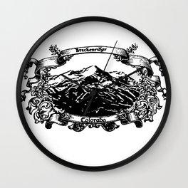 Breckenridge  Wall Clock
