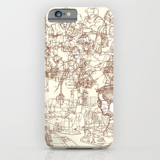 This is What We Call a Life Drawing iPhone & iPod Case