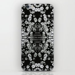 without your consent iPhone Skin