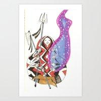 New Work Art Print