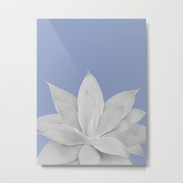 Lavender Lustre Agave #1 #tropical #decor #art #society6 Metal Print