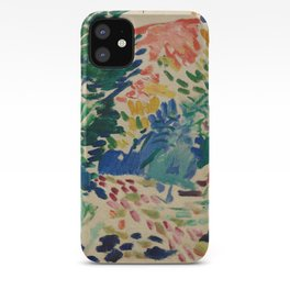 Landscape at Collioure - Henri Matisse - Exhibition Poster iPhone Case