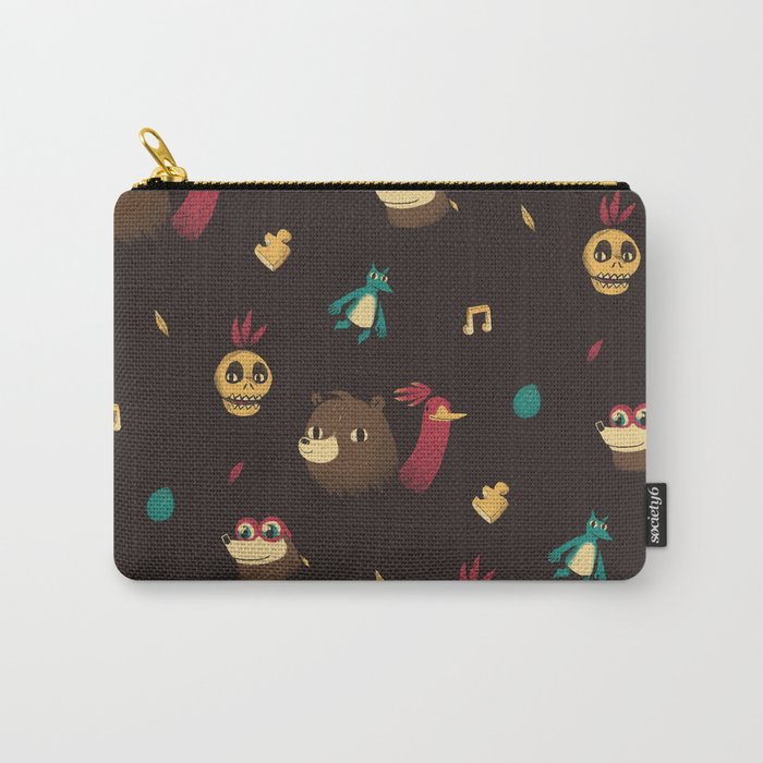 banjo pattern Carry-All Pouch