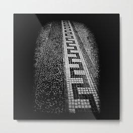 Mosaic Metal Print