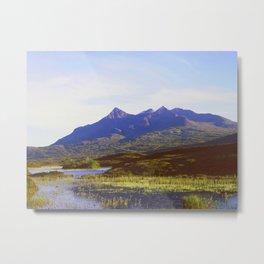 The Cuillin Hills Metal Print