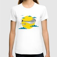 the whale T-shirts featuring WHALE by mark ashkenazi