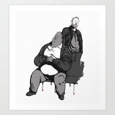 Huell and Kuby Art Print