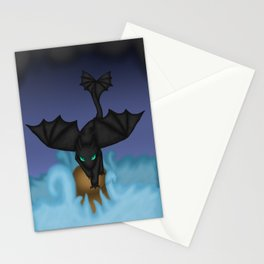 Fury of the storm Stationery Cards
