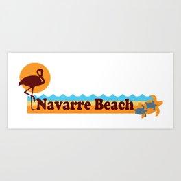 Navarre Beach - Florida Art Print