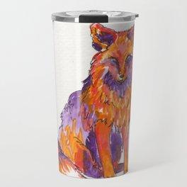 Fox Red Travel Mug