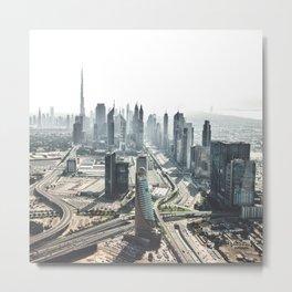 burj khalifa in Dubai Metal Print