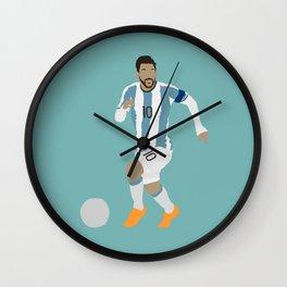 Messi Argentina Print Wall Clock
