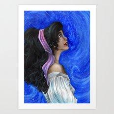 Esmeralda Art Print