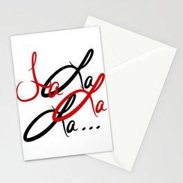 Large Fa La La La... Stationery Cards