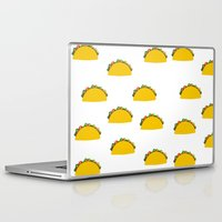 taco Laptop & iPad Skins featuring Taco  by Beautiful Artworks