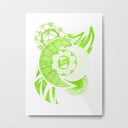 Foliation Metal Print