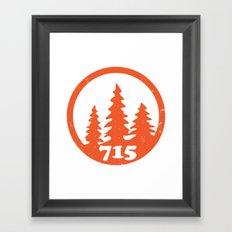 715 Tomahawk Framed Art Print