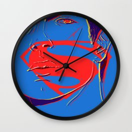 S U P E R M A N (BvS) Wall Clock