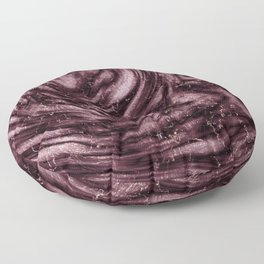 Rosewood velvet gem Floor Pillow