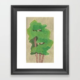 three in one Framed Art Print