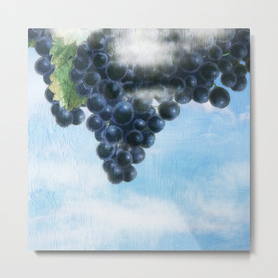 Grapes' Heaven Metal Print