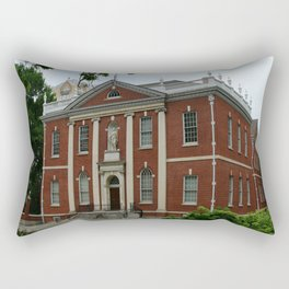 Old Town Philadelphia Rectangular Pillow