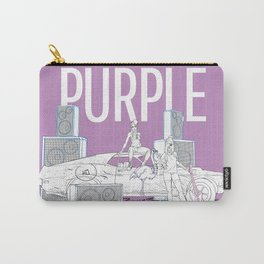 Purple - 2 Carry-All Pouch