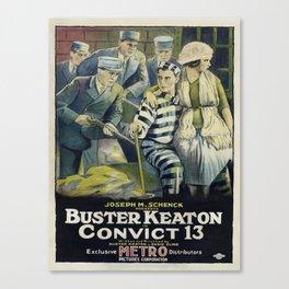 Vintage poster - Convict 13 Canvas Print