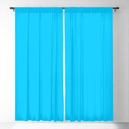 Solid Color Aqua Blue Blackout Curtain