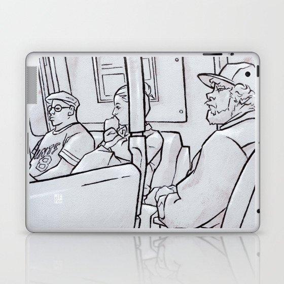 SUBWAY 3 Laptop & iPad Skin