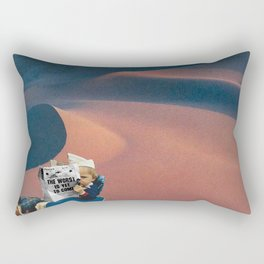 The Worst is Yet to Come Rectangular Pillow
