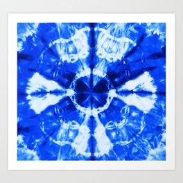 It's Bloomin' Blue Art Print