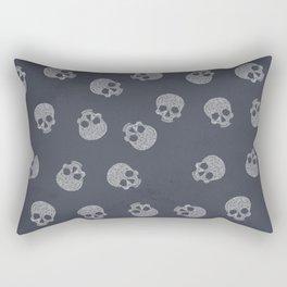 Skull Lines Rectangular Pillow