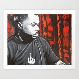 DERRICK CARTER Art Print