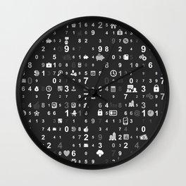 Information technologies Wall Clock