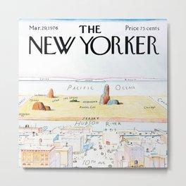 The New Yorker - 03/1976 Metal Print