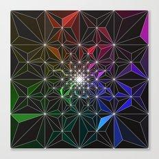 Spotty Variation 2 Geometric Art Print. Canvas Print