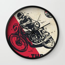 The Thrill Wall Clock
