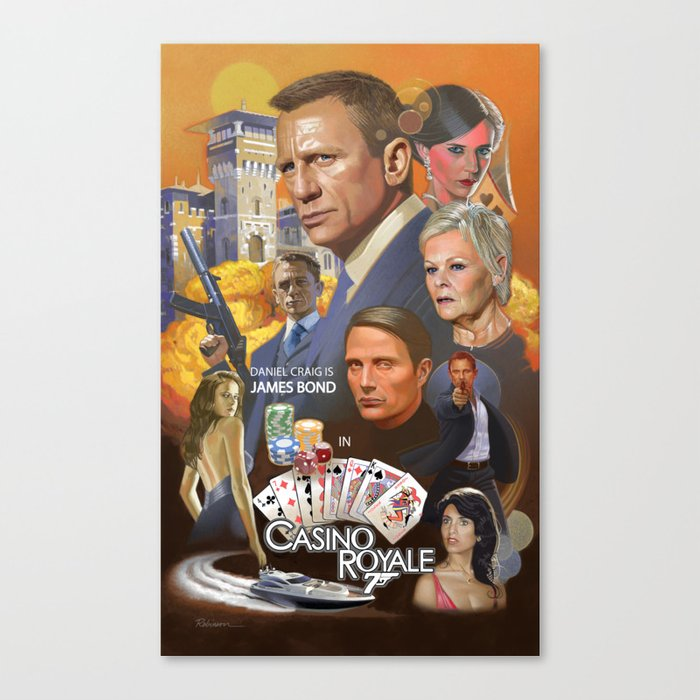 James Bond - Casino Royale Canvas Print
