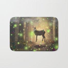 The Magic Deer by GEN Z Bath Mat