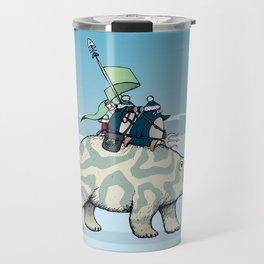 Nature warriors: From Pole to Pole Travel Mug